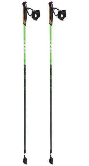 LEKI Smart Carat wandelstok groen/zwart
